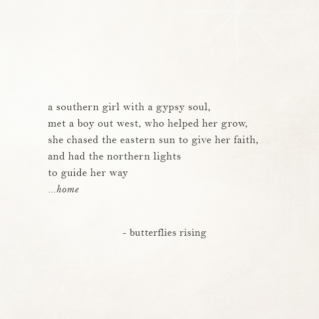 a southern girl with a gypsy soul