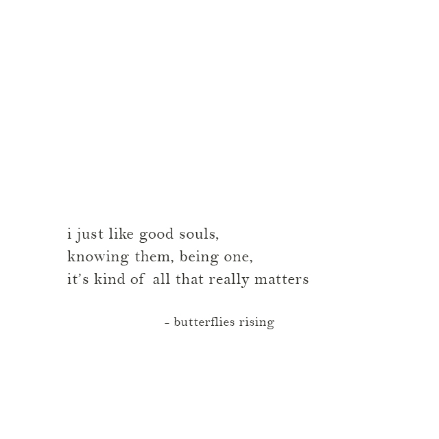 i just like good souls