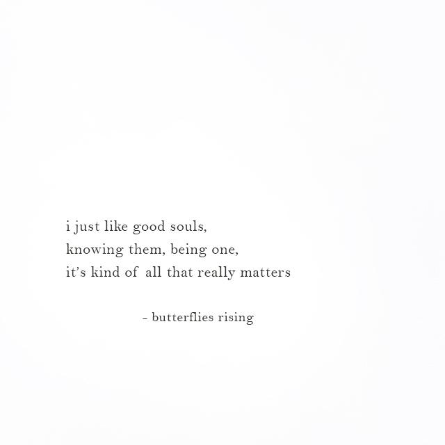 i just like good souls