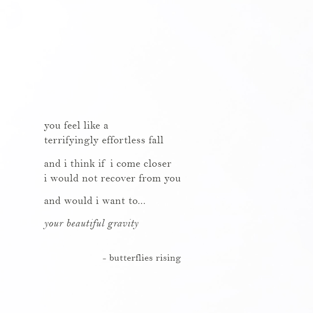 your beautiful gravity