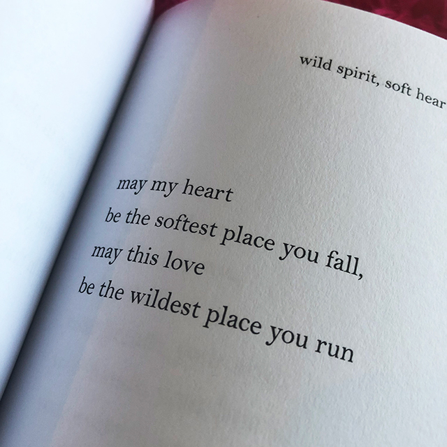 may this love be the wildest place you run