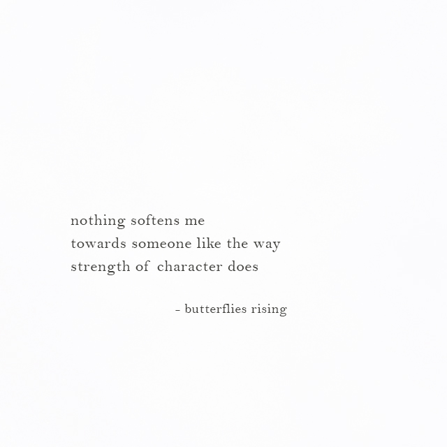 the way strength of character does