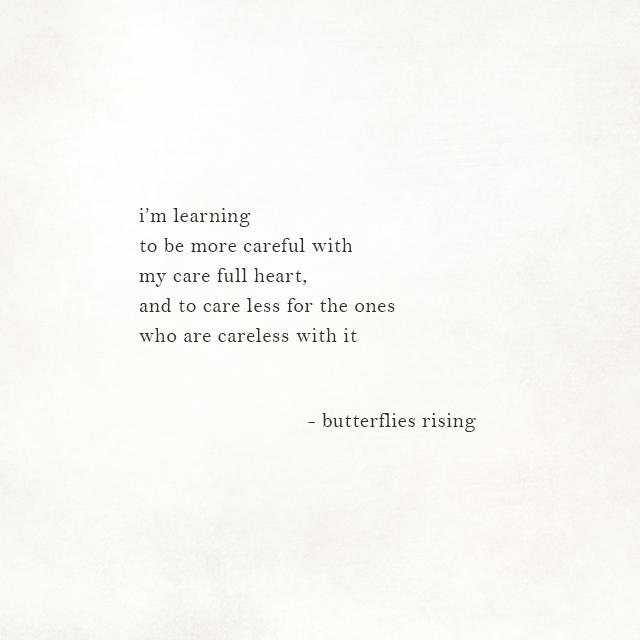 my care full heart