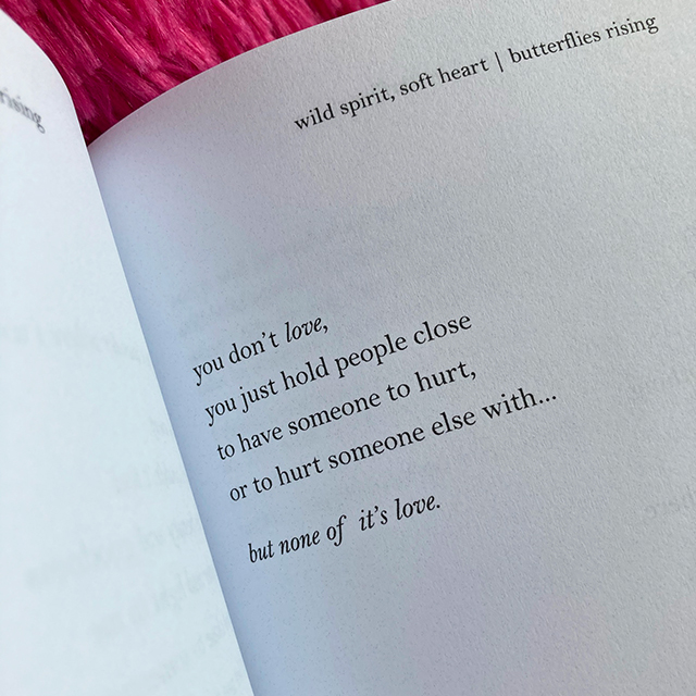you just hold people close to have someone to hurt