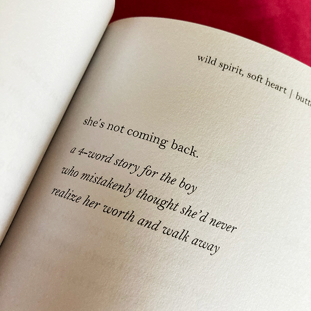 she's not coming back. a 4-word story