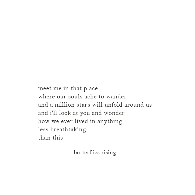 a million stars will unfold around us