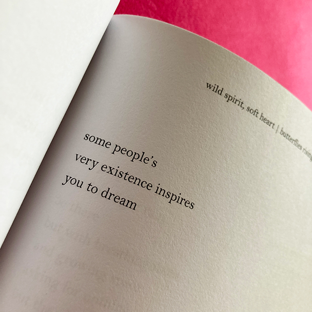some people's very existence inspires you to dream - butterflies rising