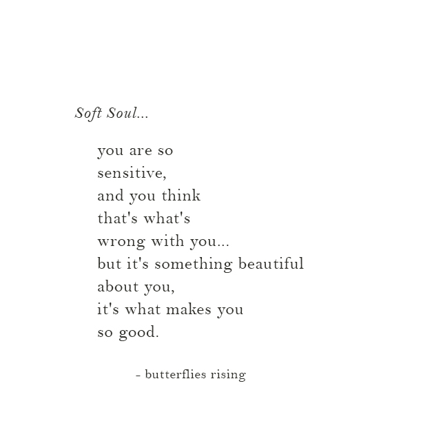 it's something beautiful about you, it's what makes you so good.